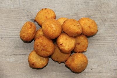 aperitiefbolletjes 33 % garnalen  2 kg