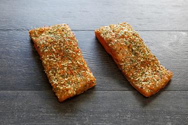 Zalmrokerij Wymo - Warm gerookte zalm met kruiden